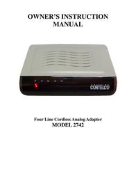 Cortelco 2742 User Manual