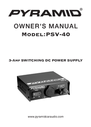 Pyramid Car Audio PSV-40 User Manual