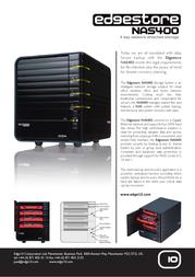 Edge10 4TB NAS400 30318 Leaflet