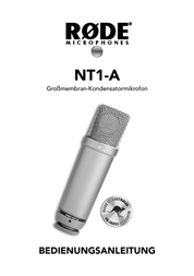 Rode Microphones RODE NT1-A VOCAL RECORDING SYSTEM 400.100.010 Data Sheet