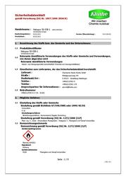 Knosti Disco Antistatic Record Cleaner Disco Antistat Data Sheet