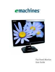eMachines Flat Panel Monitor User Manual