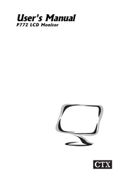 CTX P772 User Manual
