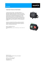 Dicota Uni.Com N5078N Leaflet