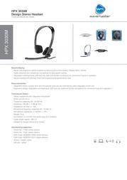 Wavemaster HPX-3030M 71031 Leaflet