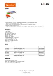 Accutone Aquarius 992200001 Leaflet