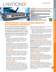 Lantronix EDS00812N-01 8-Port Device Server - 8 x RJ-45 Specification Guide