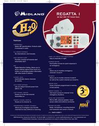 Midland Regatta 1-W RG1W Leaflet