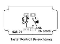 Pera Insert Control switch Pera 2100-022-0100 2100-022-0100 Data Sheet