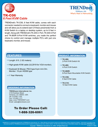 Trendnet TK-C06 Leaflet