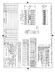 Panduit 5-pair connecting block. P110CB5-XY Leaflet