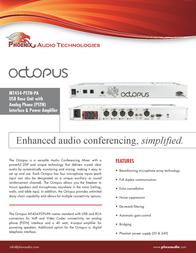 Phoenix Audio MT454-PSTN-PA Leaflet