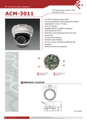 ACTi ACM-3011 Leaflet