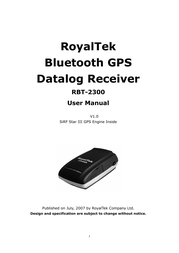 RoyalTek rbt-2300 User Manual