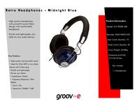 Groov-e GV-9900-MB GV9900MB Leaflet
