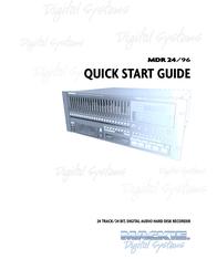 Magma MDR 24/96 User Manual