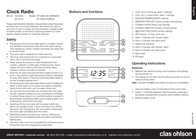 Clas Ohlson KT-3268 사용자 설명서