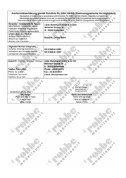 Robbe ROXXY BLControl 960-6 1-8634 Data Sheet
