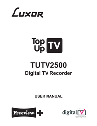 Luxor TUTV2500 User Manual