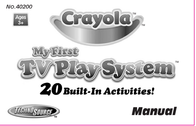 Crayola My First TV Play System User Manual