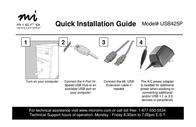 Micro Innovations Hi-Speed 4-Port USB Hub USB425P Leaflet