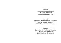 Ridgid RD80770 User Manual
