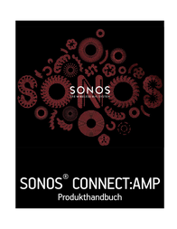 Sonos CONNECT:AMP CTAZPEU1 Data Sheet