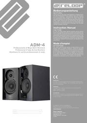 Reloop ADM-4 Data Sheet