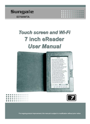 Sungale ID700WTA User Manual