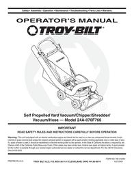 Troy-Bilt 24A-070F768 User Manual