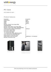Whitenergy 06785 Leaflet