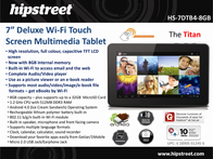 Hip Street Equinox 2 HS-10DTB2-8GB User Manual