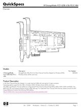 HP FC2142SR A8002A Dépliant