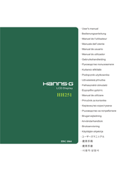 Hanns.G Flat Panel Television HH251 User Manual