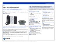 Mitel Networks 5310 IP 50005321 Leaflet