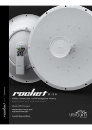 Ubiquiti RAD-2RD RADOME FÜR 2 ROCKETDISH RAD-2RD Data Sheet