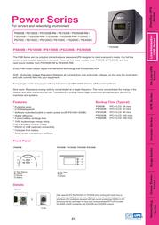 OPTI-UPS PS3000C User Manual