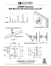 Lucasey LC200WP Leaflet
