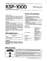 Sony 347 User Manual