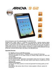 Arnova 9 G2 501916 User Manual