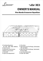 Lanzar VIBE XE3 User Manual