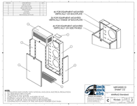 Black Hawk Labs 6U + 4U MiniRaQ Secure MRQ301S10 Leaflet