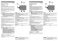Speaka 2 ports RCA audio switch Black AC1 Leaflet