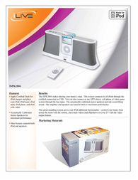 iLive ISPK2806 Leaflet