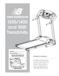 New Balance 1200 User Manual