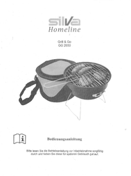 Silva Homeline Charcoal grill GG 2650 Camping Black GG 2650 Data Sheet