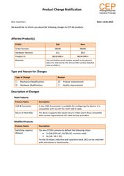 Cep Terminals 04100 GSM Remote Switch Control Module 04100 Data Sheet