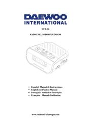 Daewoo DCR-26 User Manual