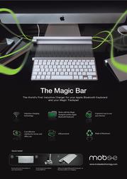 Mobee Technology Magic Bar MO3212 Leaflet