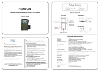 Digital Foci psf-250 Guia Do Utilizador